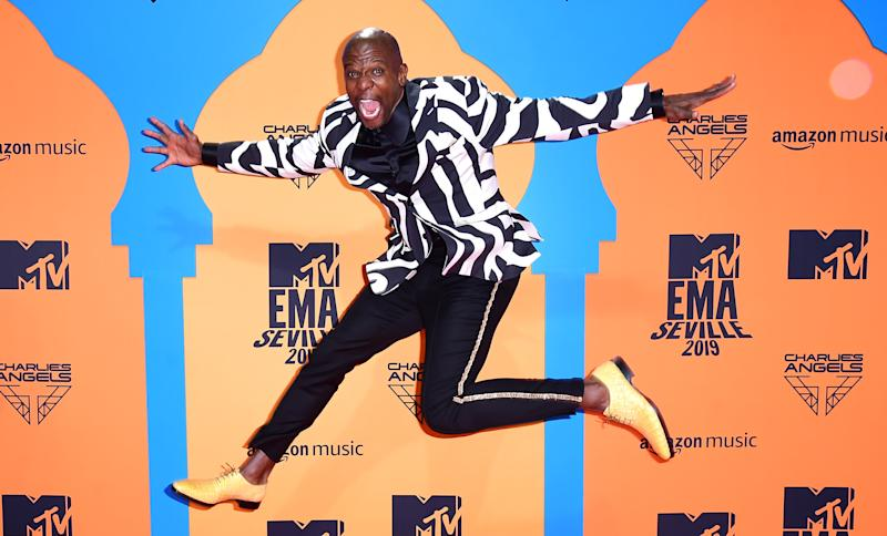 Terry Crews attending the MTV Europe Music Awards 2019, held at the FIBES Conference & Exhibition Centre of Seville, Spain.