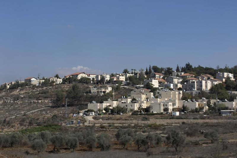 This Oct. 24, 2016 photo, shows part of the Israeli settlement of Beit El, near the West Bank city of Ramallah. Tax records show the family of U.S. president-elect Donald Trump's son-in-law, Jared Kushner, has donated tens of thousands of dollars to Israeli settlement institutions in the West Bank in recent years. Trump has said Kushner, a top confidant of Trump and an Orthodox Jew, could help broker a peace agreement between Israel and the Palestinians. The donations by Kushner's parents' foundation, co-directed by Kushner, could cast doubt about his ability to serve as a peace negotiator between the parties. (AP Photo/Nasser Nasser)