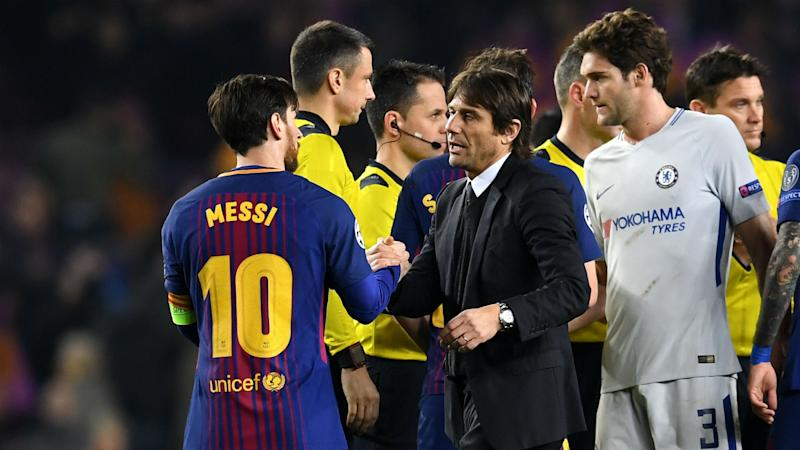 Messi was the difference, says proud Conte
