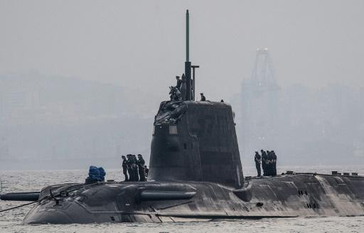 UK nuclear submarine docks in Gibraltar after collision
