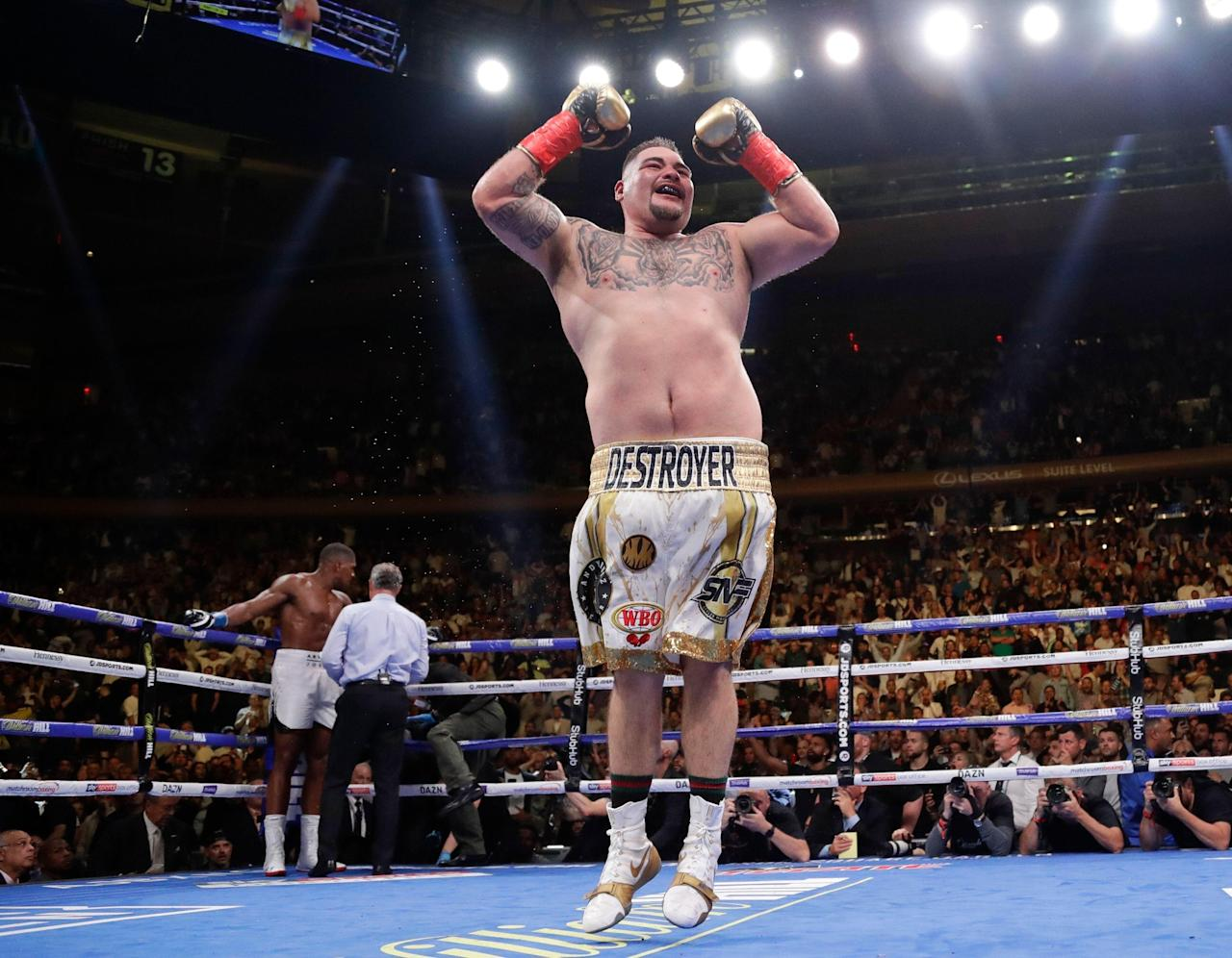 Andy Ruiz Jr. shockingly TKOs Anthony Joshua to claim heavyweight world title