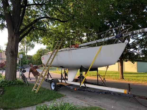 Steven Brombach, an Ottawa dad, bought a boat this year to spend more time with his kids outdoors.