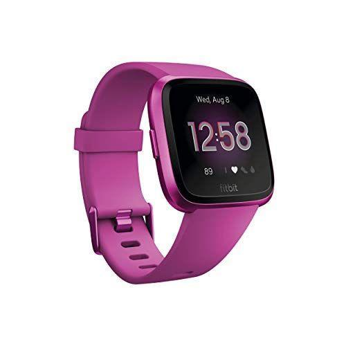 "<p><strong>Fitbit</strong></p><p>amazon.com</p><p><strong>$124.90</strong></p><p><a href=""https://www.amazon.com/dp/B07MSYTQQ1?tag=syn-yahoo-20&ascsubtag=%5Bartid%7C2142.g.34370773%5Bsrc%7Cyahoo-us"" rel=""nofollow noopener"" target=""_blank"" data-ylk=""slk:Shop Now"" class=""link rapid-noclick-resp"">Shop Now</a></p><p>The Lite edition is a trimmed-down version of the Versa 2. It still includes automatic activity tracking, 15 different exercise modes, heart rate tracking, and connected GPS. Plus it's water-resistant (down to 50 meters). What you don't get are floors climbed, laps swam, music, on-screen workouts, or Fitbit Pay like the fully loaded and more expensive Versa 2.</p>"