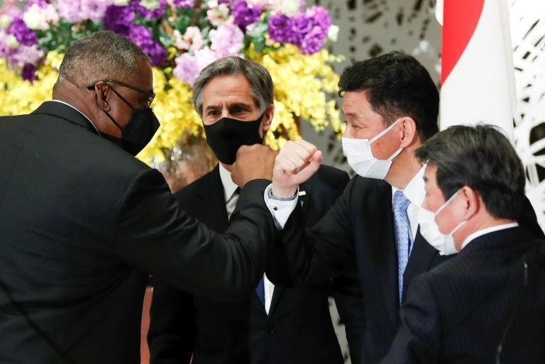 Discussions in Tokyo, both bilateral and joint, focused on China