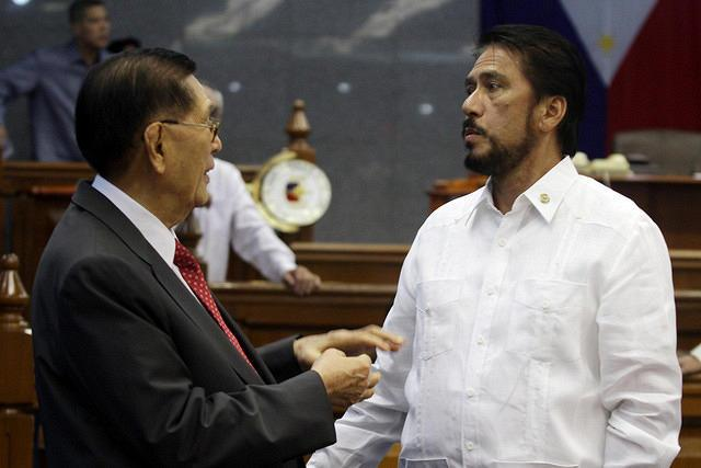 Enrile and Sotto