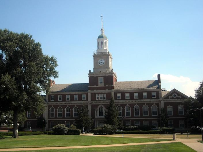 Howard University, where classes were cancelled following a ransomware attack  (Josh/WikkiCommons)