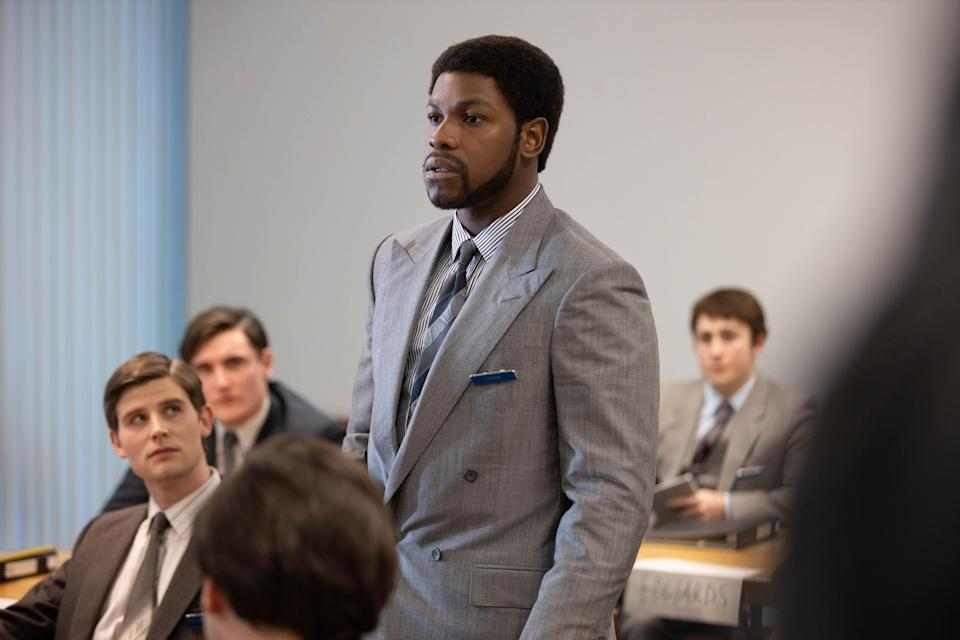 <p>Boyega stars in the third Small Axe film</p> (BBC/McQueen Limited/Will Robson-Scott)