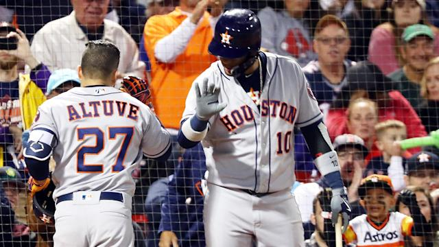 The Astros are 9-1 in September and beat the Red Sox twice this past week. (AP)