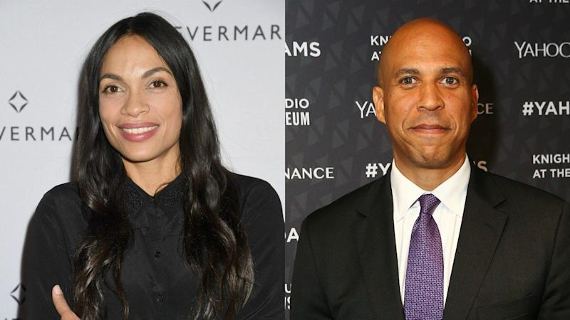 Rosario Dawson Confirms She's Dating Cory Booker: 'It's Good to Spend Time Together'