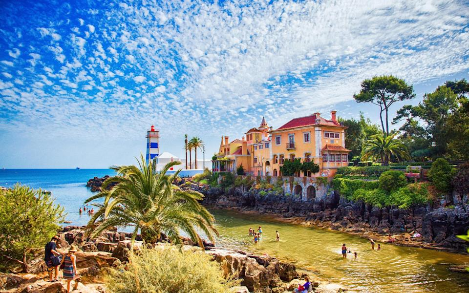 Cascais should open to Uk holidaymakers next week - Getty