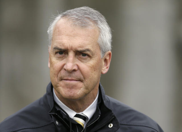 Barta has been Iowa's athletic director since 2006. (AP)