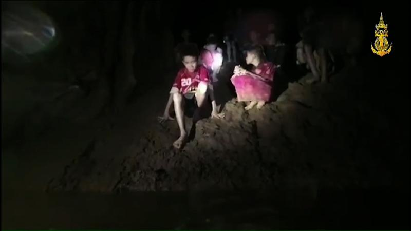 Two British cave divers found the boys more than a week after they went missing