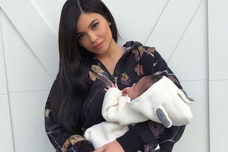 Little doll: Stormi Jenner already has an 'incredible' wardrobe: Kylie Jenner