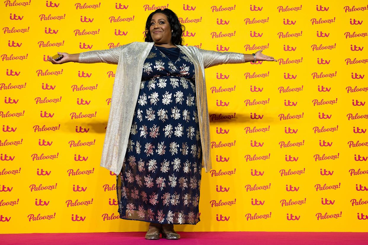 LONDON, ENGLAND - OCTOBER 16:  Alison Hammond attends the ITV Palooza! held at The Royal Festival Hall on October 16, 2018 in London, England.  (Photo by Jeff Spicer/WireImage)