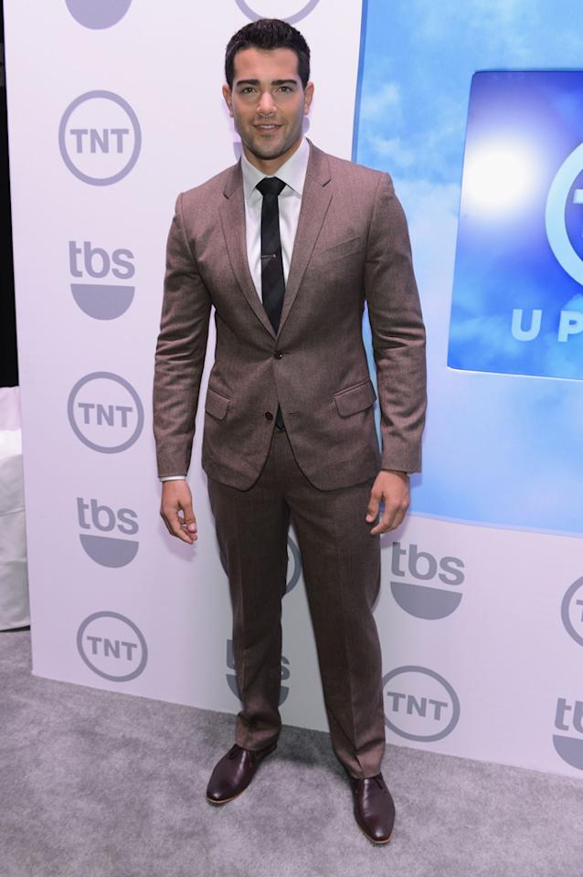 "Jesse Metcalfe (""Dallas"") attends the TNT/TBS 2012 Upfront Presentation at Hammerstein Ballroom on May 16, 2012 in New York City."