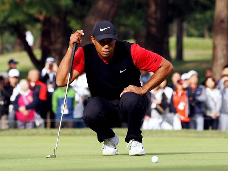Tiger Woods is still eyeing the majors record set by Jack Nicklaus