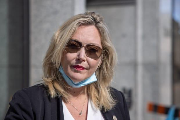 Cumberland North MLA Elizabeth Smith-McCrossin lost her position in the Progressive Conservative caucus over her stance on the border protest.  (Robert Short/CBC - image credit)