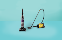 """<p>It is possible to get a great <a href=""""https://www.goodhousekeeping.com/appliances/vacuum-cleaner-reviews/g1833/best-vacuums-1007/"""" rel=""""nofollow noopener"""" target=""""_blank"""" data-ylk=""""slk:vacuum cleaner"""" class=""""link rapid-noclick-resp"""">vacuum cleaner</a> at $100 or less: Compared to pricier counterparts, cheaper vacuum cleaners often contain more plastic parts, may be minus some of the upscale features (like adjustable suction, cord rewind, telescoping wands or extra attachments), or may not last as long as higher-end models. But, if you don't need (or want!) your vacuum to last forever, cheaper vacuums can certainly get the job done sans bells and whistles.<br></p><p>The <a href=""""https://www.goodhousekeeping.com/institute/"""" rel=""""nofollow noopener"""" target=""""_blank"""" data-ylk=""""slk:GH Cleaning Lab"""" class=""""link rapid-noclick-resp"""">GH Cleaning Lab</a> regularly tests all kinds of vacuums, including <a href=""""http://www.goodhousekeeping.com/appliances/vacuum-cleaner-reviews/a25323288/best-canister-vacuums/"""" rel=""""nofollow noopener"""" target=""""_blank"""" data-ylk=""""slk:canister vacuums"""" class=""""link rapid-noclick-resp"""">canister vacuums</a>, <a href=""""http://www.goodhousekeeping.com/appliances/vacuum-cleaner-reviews/g22073192/best-vacuum-for-pet-hair/"""" rel=""""nofollow noopener"""" target=""""_blank"""" data-ylk=""""slk:vacuums for pet hair"""" class=""""link rapid-noclick-resp"""">vacuums for pet hair</a>, <a href=""""http://www.goodhousekeeping.com/appliances/vacuum-cleaner-reviews/g1222/best-stick-vacuums/"""" rel=""""nofollow noopener"""" target=""""_blank"""" data-ylk=""""slk:stick vacs"""" class=""""link rapid-noclick-resp"""">stick vacs</a>, <a href=""""http://www.goodhousekeeping.com/appliances/vacuum-cleaner-reviews/a25227407/best-robot-vacuum/"""" rel=""""nofollow noopener"""" target=""""_blank"""" data-ylk=""""slk:robovacs"""" class=""""link rapid-noclick-resp"""">robovacs</a>, and so many more. For each model, we test to see how well it picks up different types of debris, from sand to pet hair. We also consider the maneuverability across different types o"""