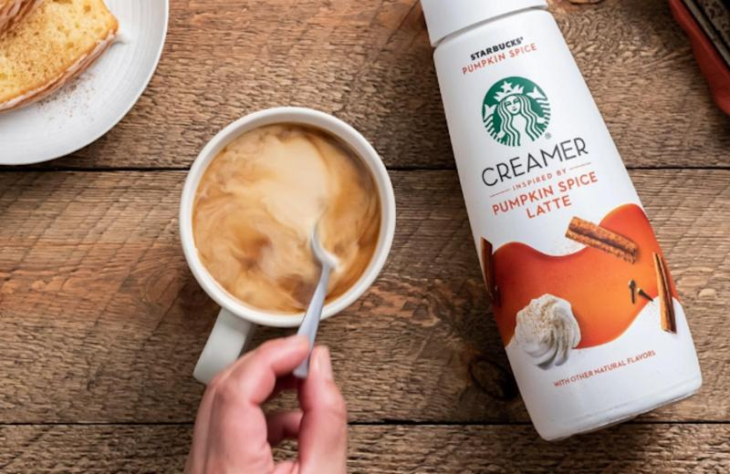 It's only August, but Starbucks is already selling pumpkin spice creamer