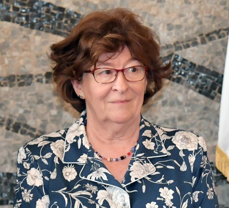 UN special envoy for migration Louise Arbour, pictured on July 6, 2017, criticized countries that agreed to the UN migration pact but later pulled out
