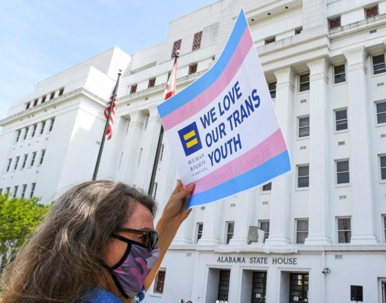 Rallies have been held in states like Alabama to draw attention to anti-transgender legislation
