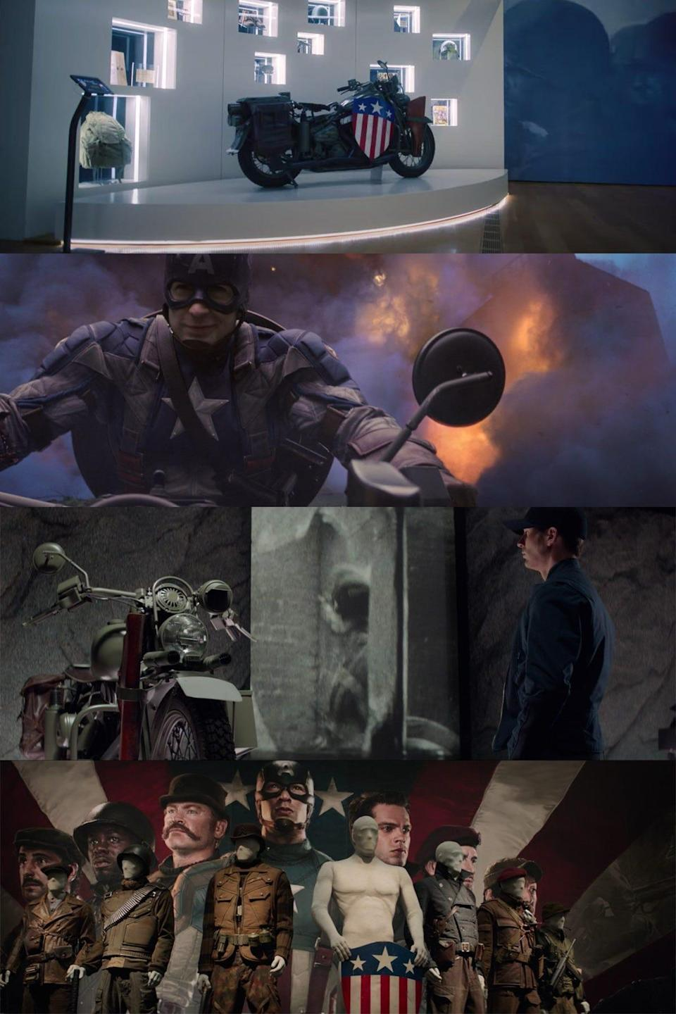 the falcon and the winter soldier 101 detail captain america motorcycle callback