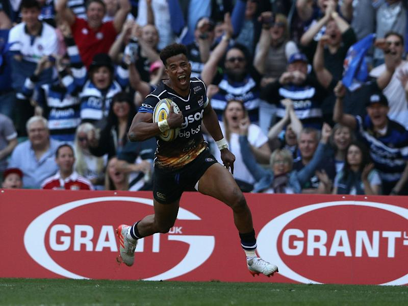 England man Anthony Watson crossed twice for Bath: Getty