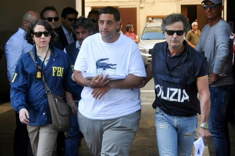 Among those arrested by Italian police, assisted by the FBI, was Thomas Gambino (AFP Photo/alessandro fucarini)