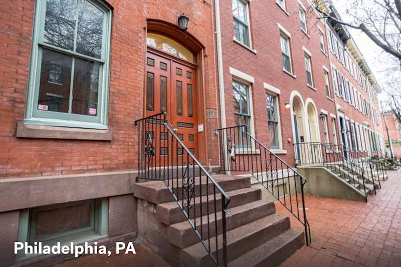Home for sale in Philadelphia with a $1500 estimated mortgage payment