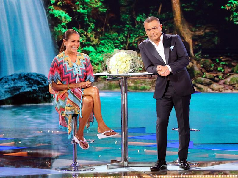 MADRID, SPAIN - JULY 11: Isabel Pantoja and Jorge Javier Vazquez attend 'Supervivientes' Tv show gala on July 11, 2019 in Madrid, Spain. (Photo by Europa Press Entertainment/Europa Press via Getty Images)