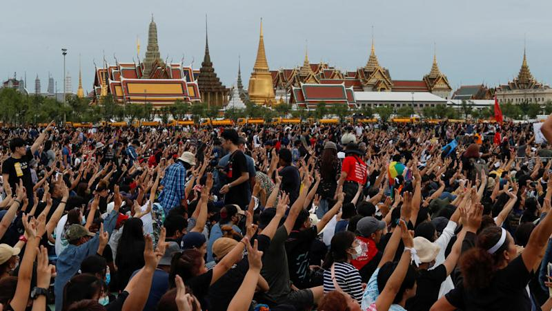 Biggest protest in Thailand in years demands democratic, monarchy reforms
