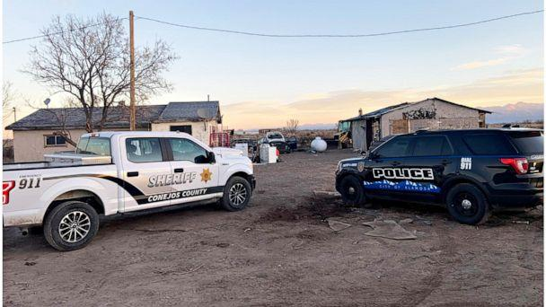 PHOTO:  The remains of three bodies were found on two properties in Colorado's San Luis Valley.  (Courtesy of the Conejos County Sheriff's Office)
