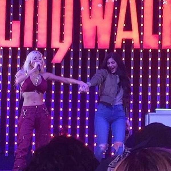 Kylie Jenner Gets Dragged On Stage At Pia Mia & Tyga Concert