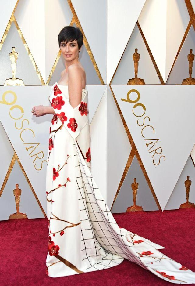 <p>Paz Vega attends the 90th Academy Awards in Hollywood, Calif., March 4, 2018. (Photo: Getty Images) </p>
