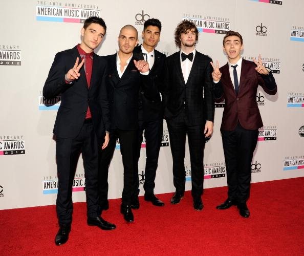 Tom Parker, Max George, Siva Kaneswaran, Jay McGuiness, and Nathan Sykes of The Wanted