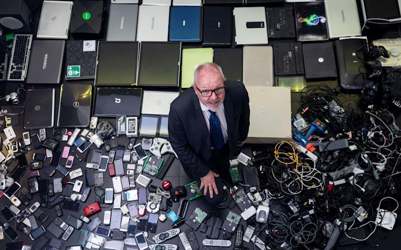 Most people said they were keeping old gadgets in case they needed a spare - PA Wire