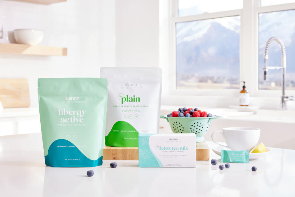 Introducing USANA's new Active Nutrition line—seven science-based products for whole-body health