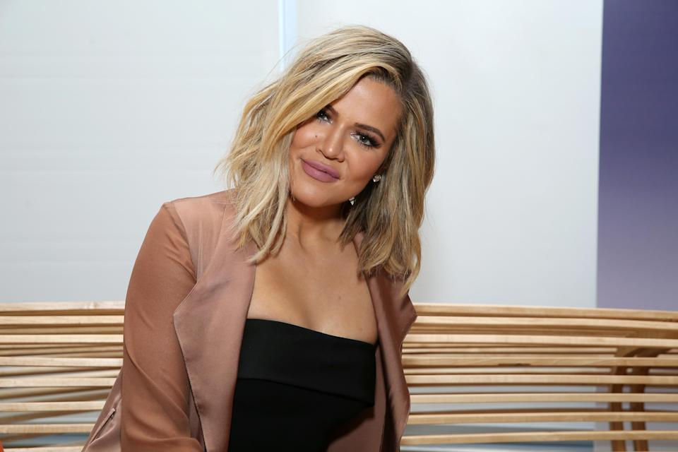 Some people are upset that Khloé Kardashian pierced her daughter's ears. (Photo: Cindy Ord/Getty Images for Allergan)