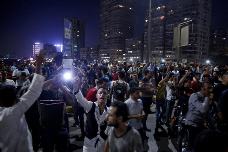 Rare protests erupted in Egypt last month, in defiance of the government's ban on demonstrations