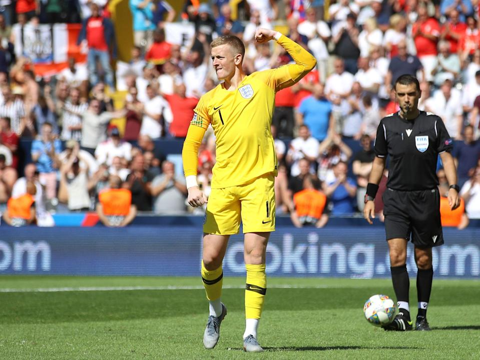 Jordan Pickford scored his one and only penalty (PA)