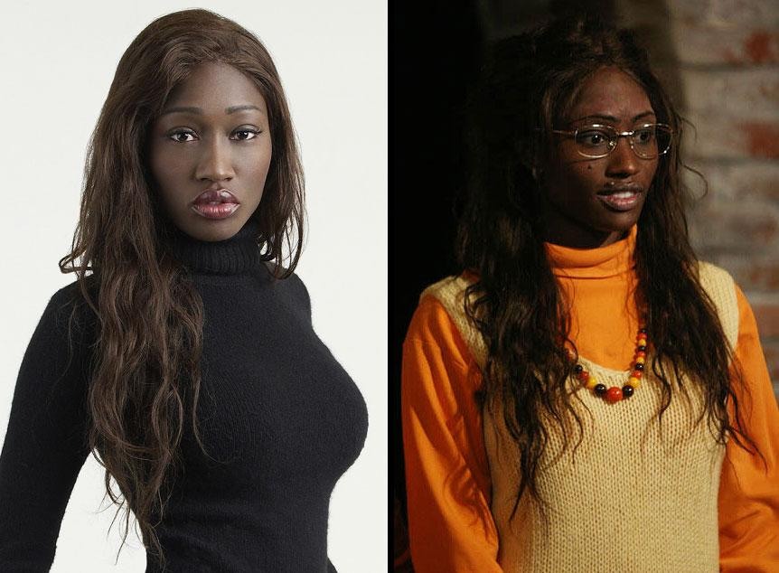 Amber goes from chic to geek on the 5th season of Beauty and the Geek.