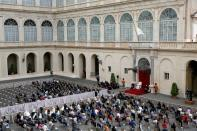 Pope Francis holds general audience at the Vatican