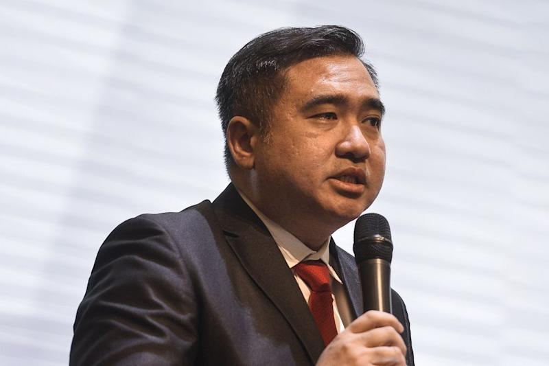 Transport Minister Anthony Loke speaks during an agreement signing event between Railway Assets Corporation (RAC) and TSLaw Land in Kuala lumpur November 8, 2019. ―Picture by Miera Zulyana