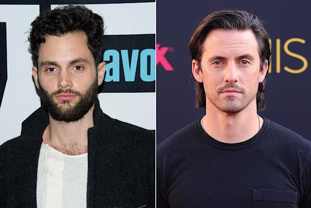 """<p>While Badgley's <i>Gossip Girl</i> co-stars Chace Crawford and Ed Westwick shared a space during the show, he <a href=""""http://www.justjared.com/tags/penn-badgley/page/21/?__nored=1"""" rel=""""nofollow noopener"""" target=""""_blank"""" data-ylk=""""slk:lived with Ventimiglia"""" class=""""link rapid-noclick-resp"""">lived with Ventimiglia</a>, who happens to be a decade his senior. Of course, Badgley wanted to use Ventimiglia's ID to get into the places that were off-limits to the then 18-year-old, and (of course) he said yes. (Photo: Getty Images) </p>"""