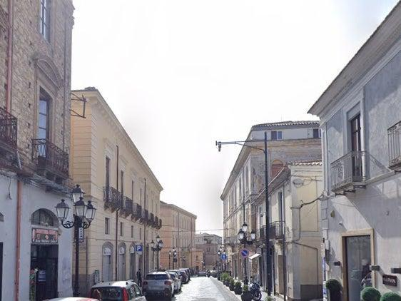 The man is reported to have skipped work in Catanzaro (pictured), south Italy, for 15 years (Google Maps)
