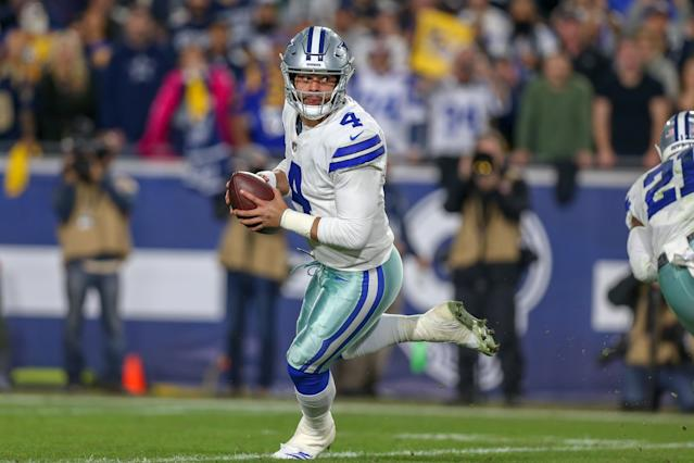 The Cowboys must decide if they want to hand out a roster-changing contract to Dak Prescott soon. (Photo by Jordon Kelly/Icon Sportswire via Getty Images)