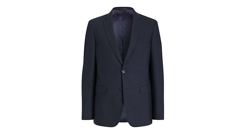 Kin Bengaline Wool Slim Fit Suit Jacket