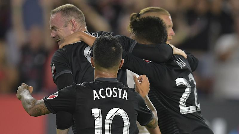 Wayne Rooney's side clinched a home knockout round game, which is set for Thursday night at Audi Field