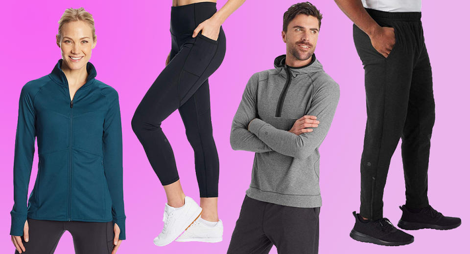 Sculpting leggings, moisture-wicking tops and other amazing activewear by C9 Champion is on sale at Amazon. (Photo: Amazon)