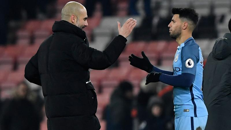 Guardiola talks up 'important' Aguero